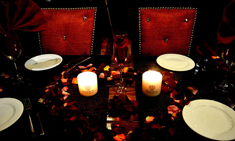 Romantic Fine Dining