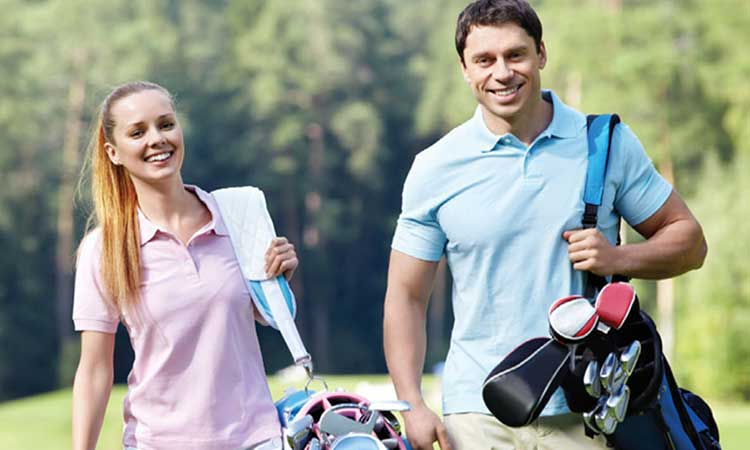 The Opulent Golf & Lunch Date