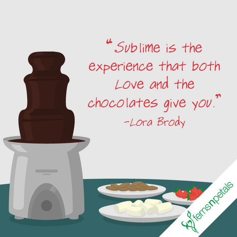 chocolate day quotes for lover
