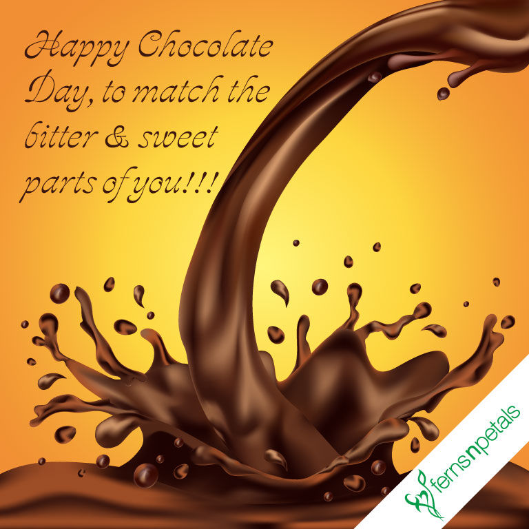 chocolate day wishes for lover
