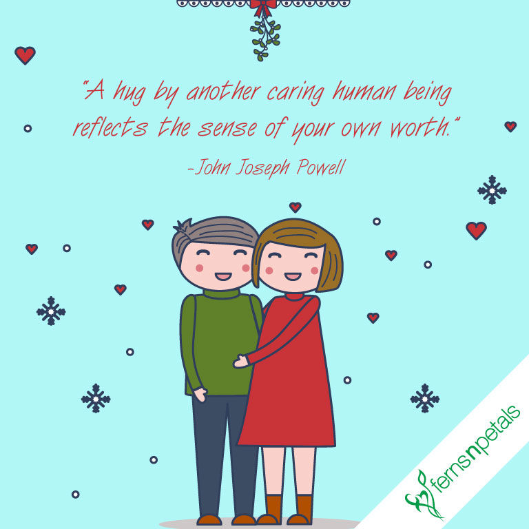 hug day quotes for love
