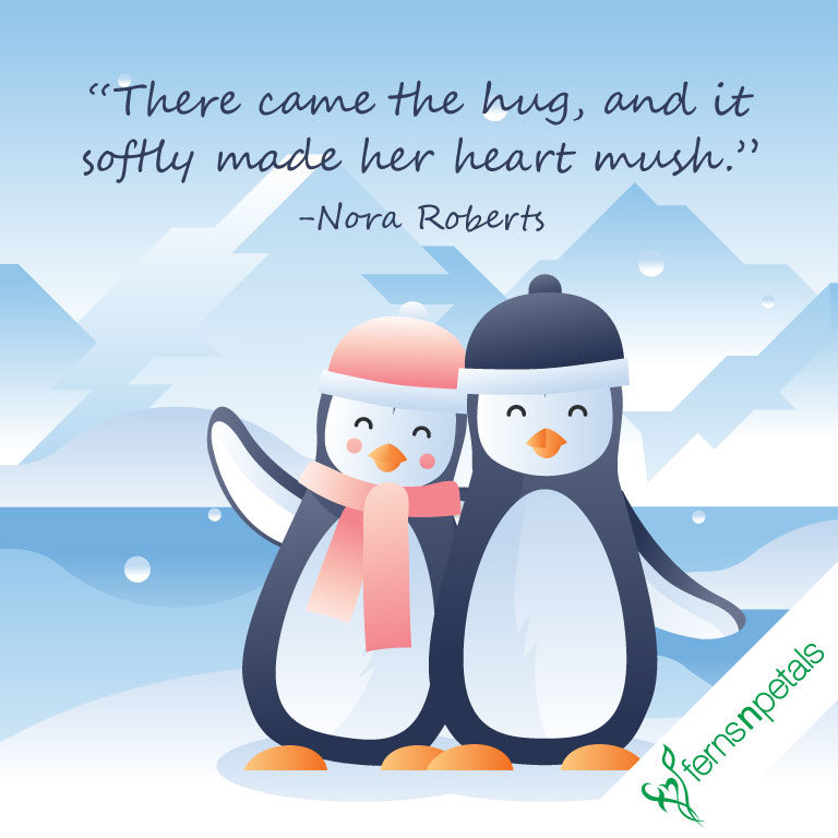 hug day pics with quotes