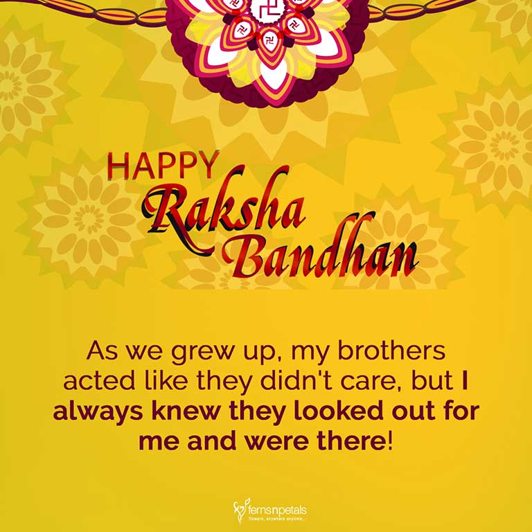 rakhi wishes for elder brother