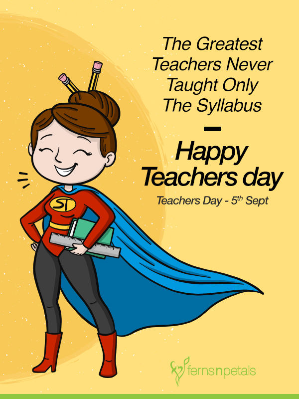 best teachers day wishes in english