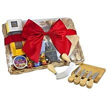 Cheese Set Picnic Basket: Mother's Day Gift Delivery in Australia
