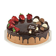 Double Chocolate Strawberry Cake: Cake Delivery in Sydney