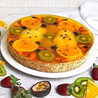 Fresh Fruit Cake: Romanic Gifts to Indonesia