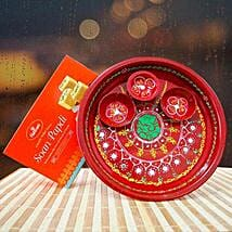 Puja Thali and Soan Papdi: Diwali Gifts Delivery in Australia