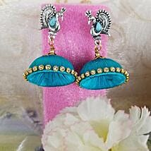 Adorned Thread Earrings: Send Jewellery to Canada