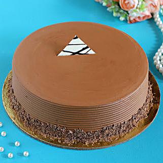 Choco Fudge Cake Half Kg: Anniversary Cakes to Canada