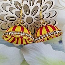 Elegant Thread Earrings: Designer Jewelry to Canada