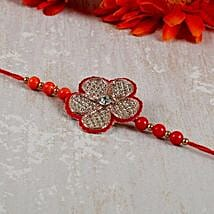Embellished Floral Rakhi: Send Rakhi to Calgary