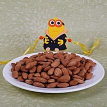 Kids Rakhi With Almonds: Kids Rakhi to Canada