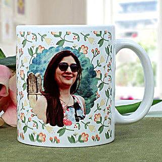 Personalised Woman Power Photo Mug: Rakhi Gifts for Sister in Canada