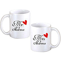 Personalized Couple Mugs: Personalised Gift Delivery in Canada