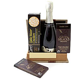 Sparkling Gourmet Quartet: Chocolate Delivery Canada