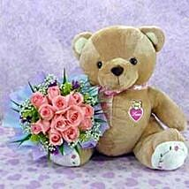 Bear n Flower CIN: Anniversary Gift in China