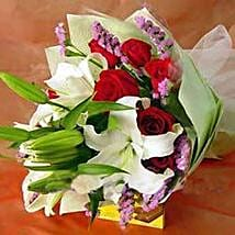 Rose n Lily CIN: Valentines Day Flowers to China