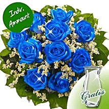 10 blue roses: Birthday Flower Delivery in Germany