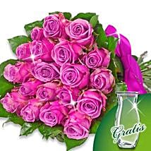 Bunch of 20 purple roses: Mother's Day Flowers in Germany