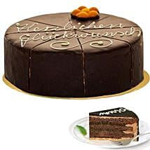 Dessert Sacher Cake: Birthday Cakes to Germany