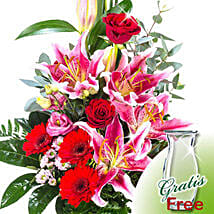 Flower Bouquet Majestic: Send Birthday Gifts to Germany