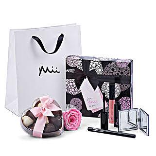 Mii Luxurious Make Up Set with Godiva And Rose