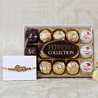 Veera Rakhi with Ferrero Rocher Collection: Rakhi Delivery in Greece