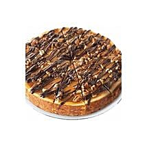 Choc Nut Cheesecake: Send Cakes to Indonesia