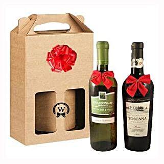 Classic Dual Italian Wines: Corporate Hampers to Ireland