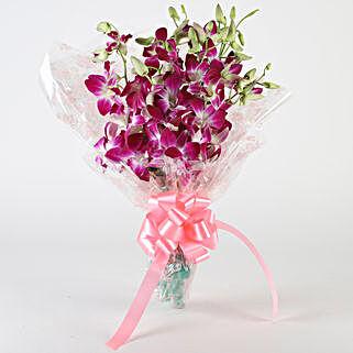 10 Royal Orchids Bunch: Send Orchids