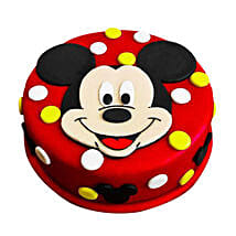 Adorable Mickey Mouse Cake: Cake Delivery in Eluru