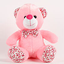 Adorable Pink Bear With Cotton Paws: Soft toys for birthday