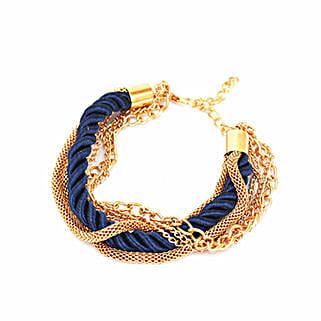 Amazing Navy Blue Stacked Party Bracelet: Send Bangles and Bracelets