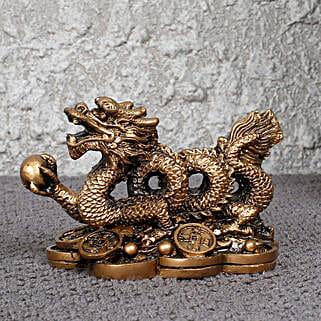 Auspicious Feng Shui Dragon Statue: Home Decor for Diwali