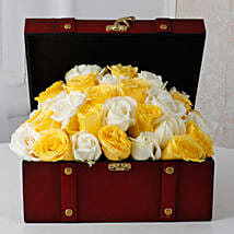Beautiful Box Of Roses: Friendship Day Flowers
