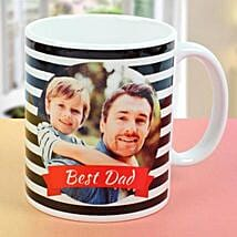 Best Dad Personalised Picture Mug: Gifts For Fathers Day From Daughter