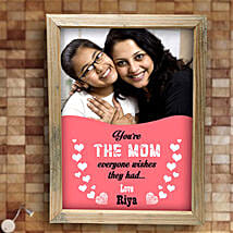 Best Mom Personalized Frame: Personalised Gifts Hyderabad