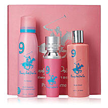 Beverly Hills 1982 Pink Women Gift Set: Rakhi Return Gifts for Sister