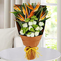 Bird Of Paradise Bunch: Exotic Flowers