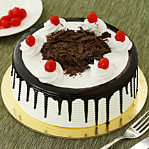 Black Forest Cake: Same Day Delivery Gifts for Friendship Day