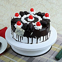 Black Forest Gateau: Thank You Eggless Cakes