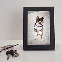 Black Rectangular Wooden Photo Frame: Send Photo Frames