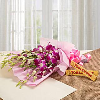 Brighten Their Day Combo: Send Thank You Chocolates