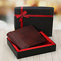 Brown Wallet: Gifts for Fiance