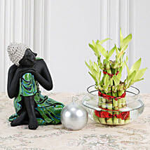 Buddha With Lucky Bamboo: Lucky Bamboo to Chennai
