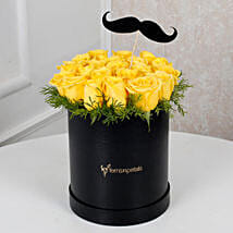 Cheerful Yellow Roses For Him: Gifts for Father