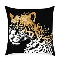 Cheetah in the House Cushion: Send Home Decor Gifts for Him