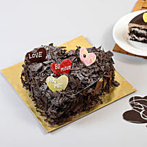 Choco Blast Love Cake: Heart Shaped Cakes to Bengaluru