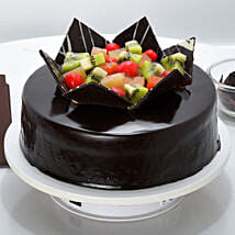 Chocolate Fruit Gateau: Cakes to Warangal